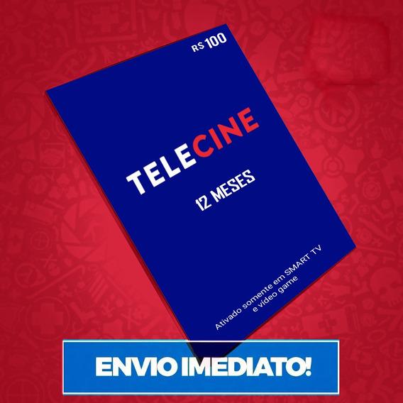 Cartão Presente Telecine Play