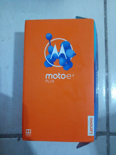 Celular Moto E4 Plus 16gb / 2gb Ram Funcionando Com Detalhe