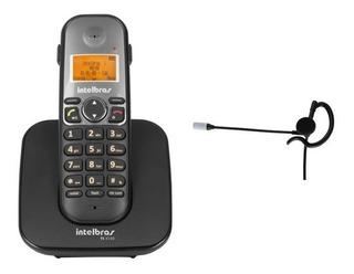 Telefone S/fio Ts 5120 Com Fone De Ouvido Hc 10 - Intelbras