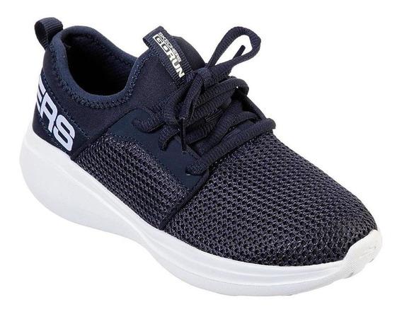 Tênis Infantil Skechers Go Run Fast 97874l-nvy