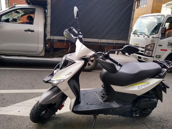 Sym Crox 125 Modelo 2020 Automatica Nueva 2800kms Garantia