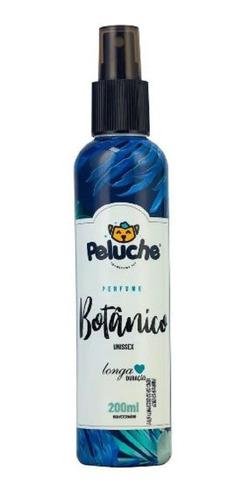 Perfume Pet Peluche Botânico 200ml Unissex Cães E Gatos