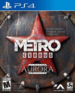 Metro Exodus Aurora Edicion Limitada Para Ps4 Envio Gratis