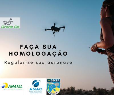 Homologação De Drones, Captação E Geoprocessamento De Imagem