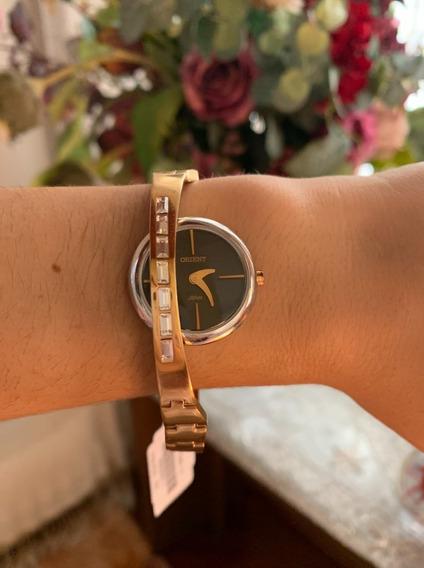 Relógio Feminino Orient Unique Ftss0027 Analógico Original