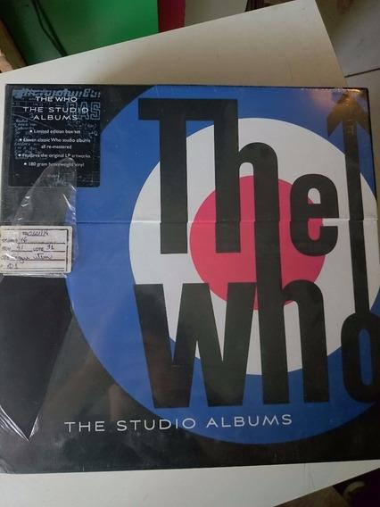 Box Vinil The Who - The Studio Albums