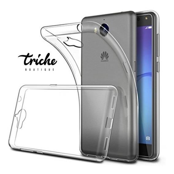 Funda Case Tpu Transparente Suave Huawei Y5 Pro Envío