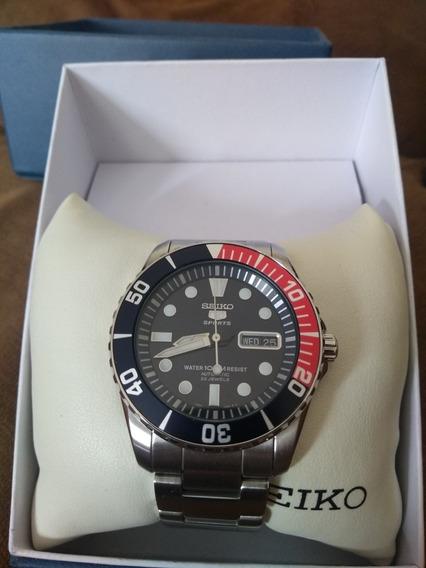 Relógio Seiko Sports Scuba Diver Pepsi