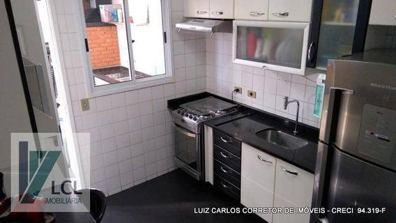 Apartamento Com 3 Dormitórios À Venda, 60 M² Por R$ 349.000,00 - Jardim América - Taboão Da Serra/sp - Ap0062