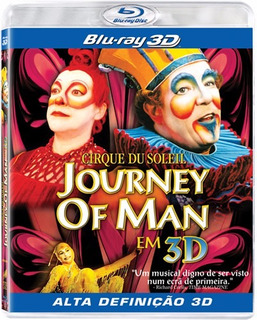 Blu Ray Cirque Du Soleil Journey Of Man Em 3d - Lacrado