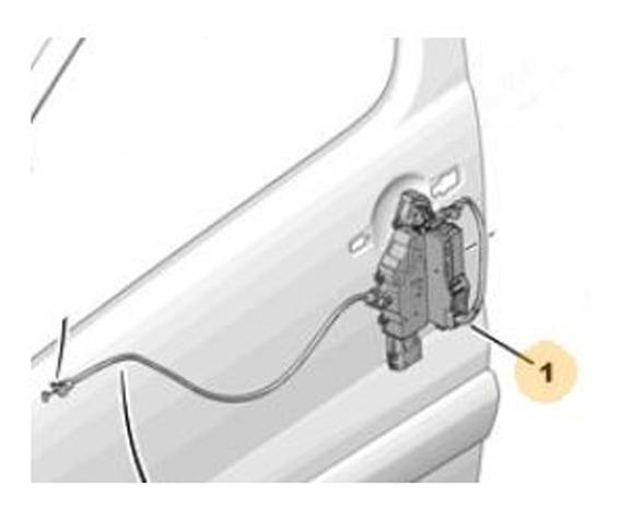 Cerradura Puerta Delant Izq Peugeot Expert 1.6 Hdi 8v
