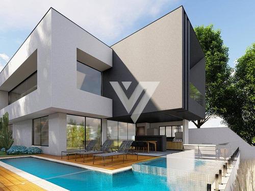 Imagem 1 de 30 de Sobrado Com 4 Dormitórios À Venda, 270 M² Por R$ 1.750.000,00 - Alphaville Nova Esplanada Iv - Votorantim/sp - So1283