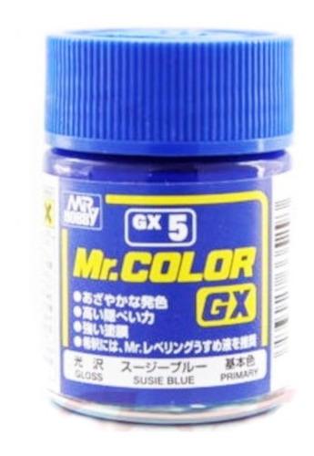 Tinta Enamel Brilho Susie Blue 18ml Mr Color Gnzgx5