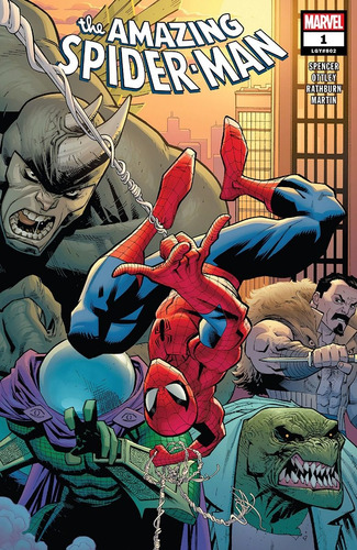 Amazing Spider-man #1 (2018) Lgy#802 Marvel