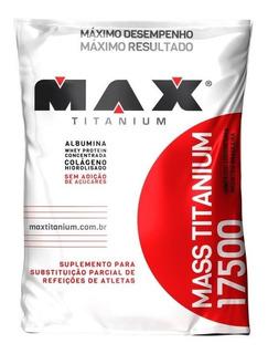 Massa Max Titanium 1,4kg Hipercalórico Super Promoção