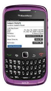Celular Blackberry Modelo 8520 Morado Pim Activo Ultimos E/g
