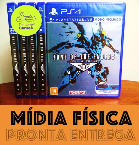 Zone Of The Enders The 2nd Runner Mars Ps4 Midia Fisica Novo