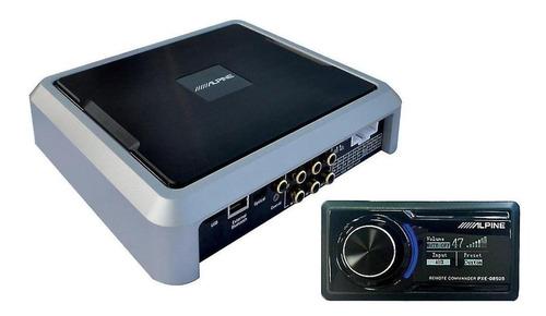 Amplificador Ecualizador Alpine Auto Pxe-0850s Inalámbrico