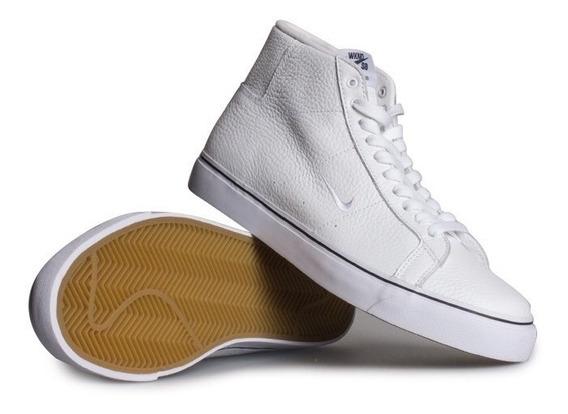 Zapatillas Nike Bs Blazer Zoom Mid Botitas Cuero