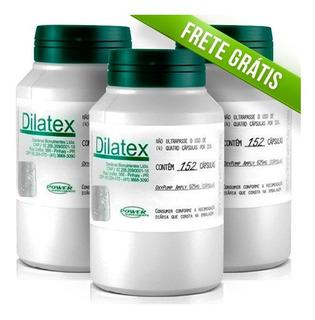 3 Dilatex Extra Pump 152caps Power Supplements Frete Grátis