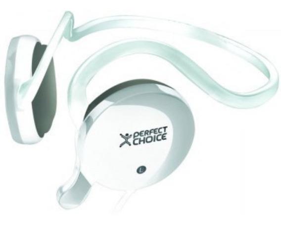 Audifonos Con Microfono Perfect Choice Pc-110606 Blanco /a