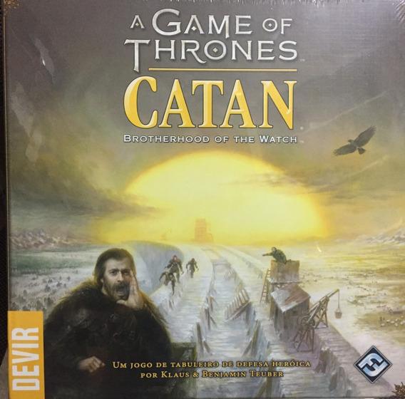 Jogo Catan A Game Of Thrones - Devir - Bonellihq G19
