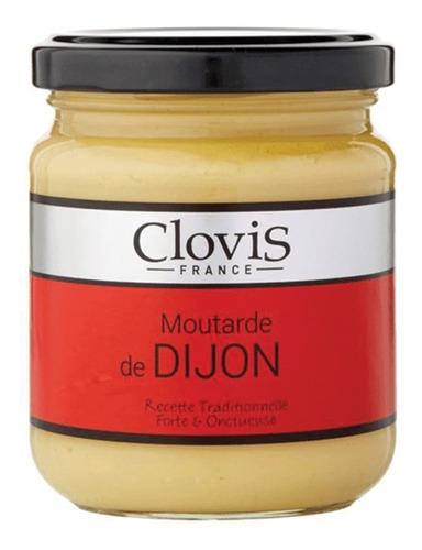 Imagen 1 de 3 de Mostaza De Dijon Clovis 200g Importada Francia