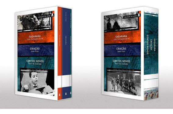 Box Clássicos Da Literatura Brasileira E Americana Capa Dura