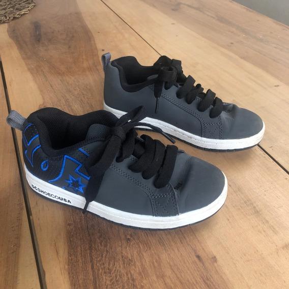 Zapatillas Dc Niños - Originales - Talle Usa 4 (21,5 Cm)