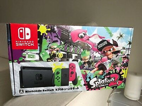 Nintendo Switch Splatoon 2 Edición Limitada