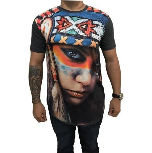 Kit C/10 Camisas Long Line Masculinas Oversize Swag Promoção