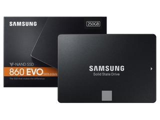 Ssd Samsung 860 Evo 250 Gb