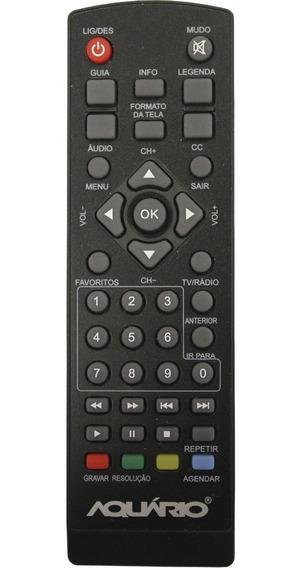 Controle Remoto Conversor Digital Dtv-5000 Original Aquário