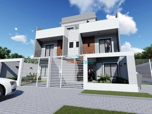 Sobrado Com 3 Dormitórios Sendo 1 Suíte E 2 Vagas De Garagem À Venda, 149 M² Por R$ 670.000 - Uberaba - Curitiba/pr - So0087