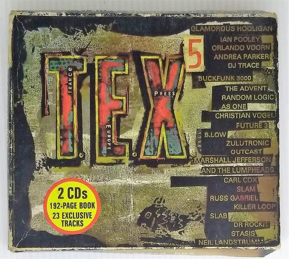 Box Cd Tex 5 Trance Europe Express - Duplo - Seminovo