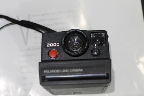 Câmera Analógica [de Filme] Polaroid Land 2000