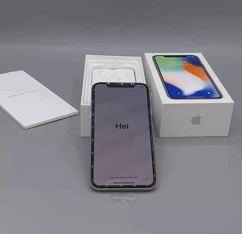 Imagen 1 de 1 de Apple iPhone X 256gb 3 Ram Gris Espacial (desbloqueado Nuevo