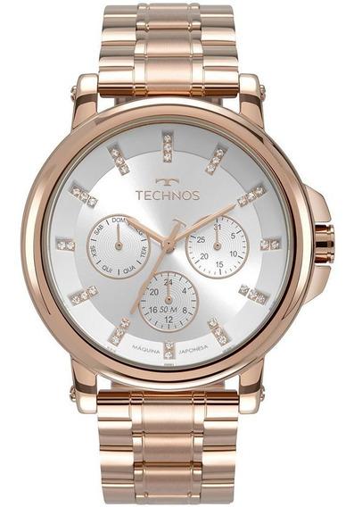 Relógio Technos Feminino Ladies Rose 6p29akw4k