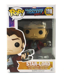 Funko Pop Guardians Of The Galaxy Vol 2 198 Star-lord M4e