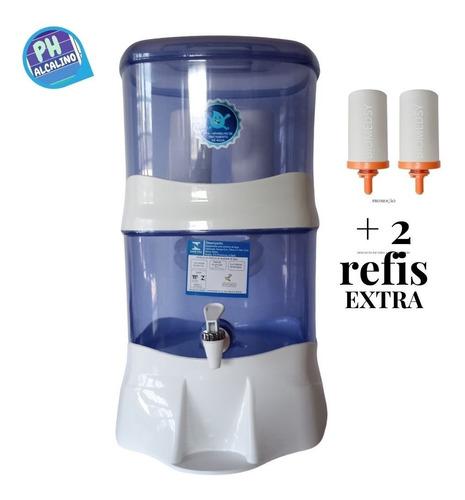 Filtro Ionizador  Água Alcalina  + 2 Refil De Magnésio Extra