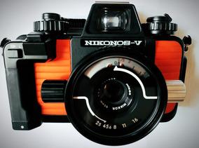 Nikon Nikonos-v, Lente 35mm F/2.5 Nikkor, Speedlight Sb-105