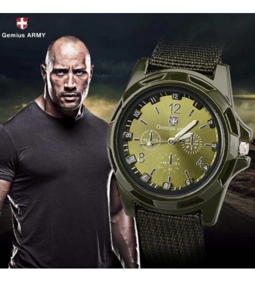 Relógio Masculino Gemius Army Filme Brad Pitt Fury