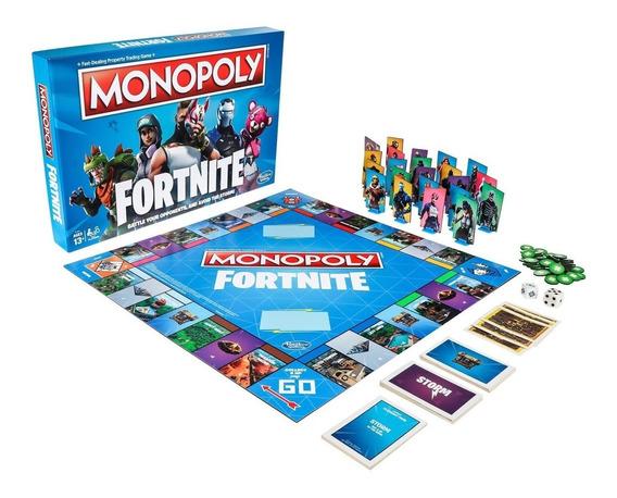 Jogo Monopoly Fortnite Banco Imobiliário