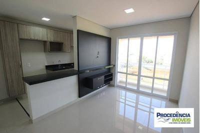 Apartamento De 1 Dormitório Para Alugar No Spazio Blu, 43 M² Por R$ 1.350/mês - Bom Jardim - São José Do Rio Preto/sp, Próx. Hb. - Ap7047