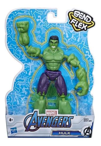 Imagem 1 de 2 de Avengers Vingadores Hulk Articulado Ben And Flex - Hasbro
