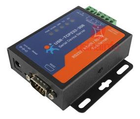 Conversor Rs485 / Rs232 / Rs422 Para Ethernet Tcp/ip Usr-tcp