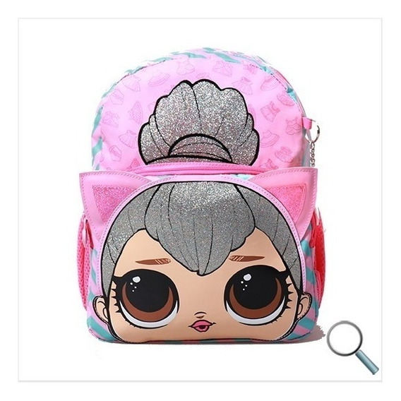 Mochila Lol Surprise Espalda 16 Original Escolar Primaria