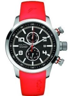Relógio Nautica Só A Pulseira Nova Vermelha P. Entrega