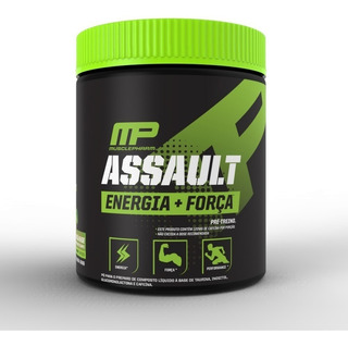 Pré Treino Assault 300g 30 Doses Musclepharm Mp Original