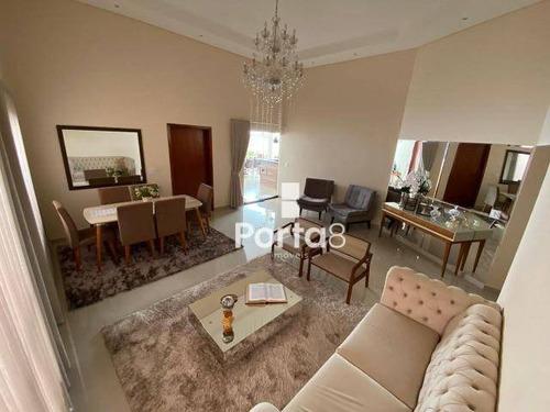 Imagem 1 de 20 de Casa À Venda, 230 M² Por R$ 1.100.000,00 - Condomínio Recanto Do Lago - São José Do Rio Preto/sp - Ca2919